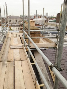 Scaffolding services - Chimney scaffolding