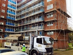 Scaffolding services - Scaffolding erectors